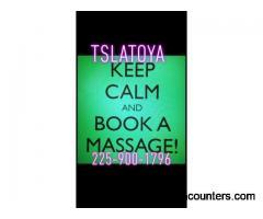 Massage With Happy Endings With TsSavage4L - t4m - Baton Rouge LA